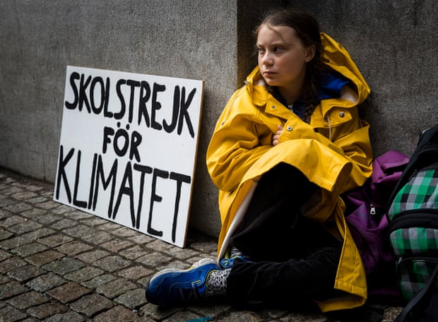 Greta Thunberg, Climate Strike
